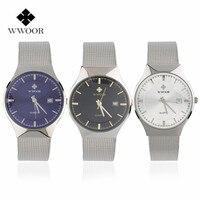 Wwoor waterproof ultra thin date clock male stainess steel strap casual quartz watch men wrist sport.jpg 200x200