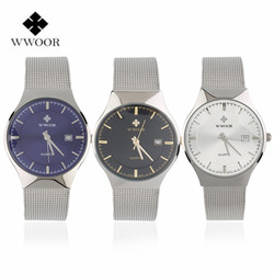 Wwoor waterproof ultra thin date clock male stainess steel strap casual quartz watch men wrist sport.jpg 250x250