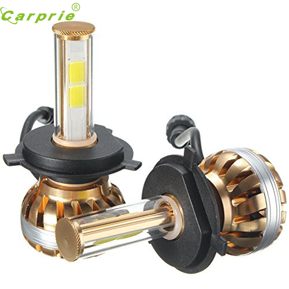 Car-styling NEW H4 120W LED Headlight Kit 6000K White Car Bulb Lamp Light st5