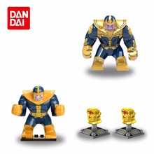 Avengers 3 Infinity War Action Figure Black Panther Thanos Hulk Falcon Building Blocks Compatible with Legoing Marvel Toys