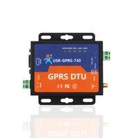 Fast Ship Livre GPRS DTU Porta Serial Vez GSM232/485 485 interface de SMS Passthrough | USR-GPRS-730 de posicionamento da estação base