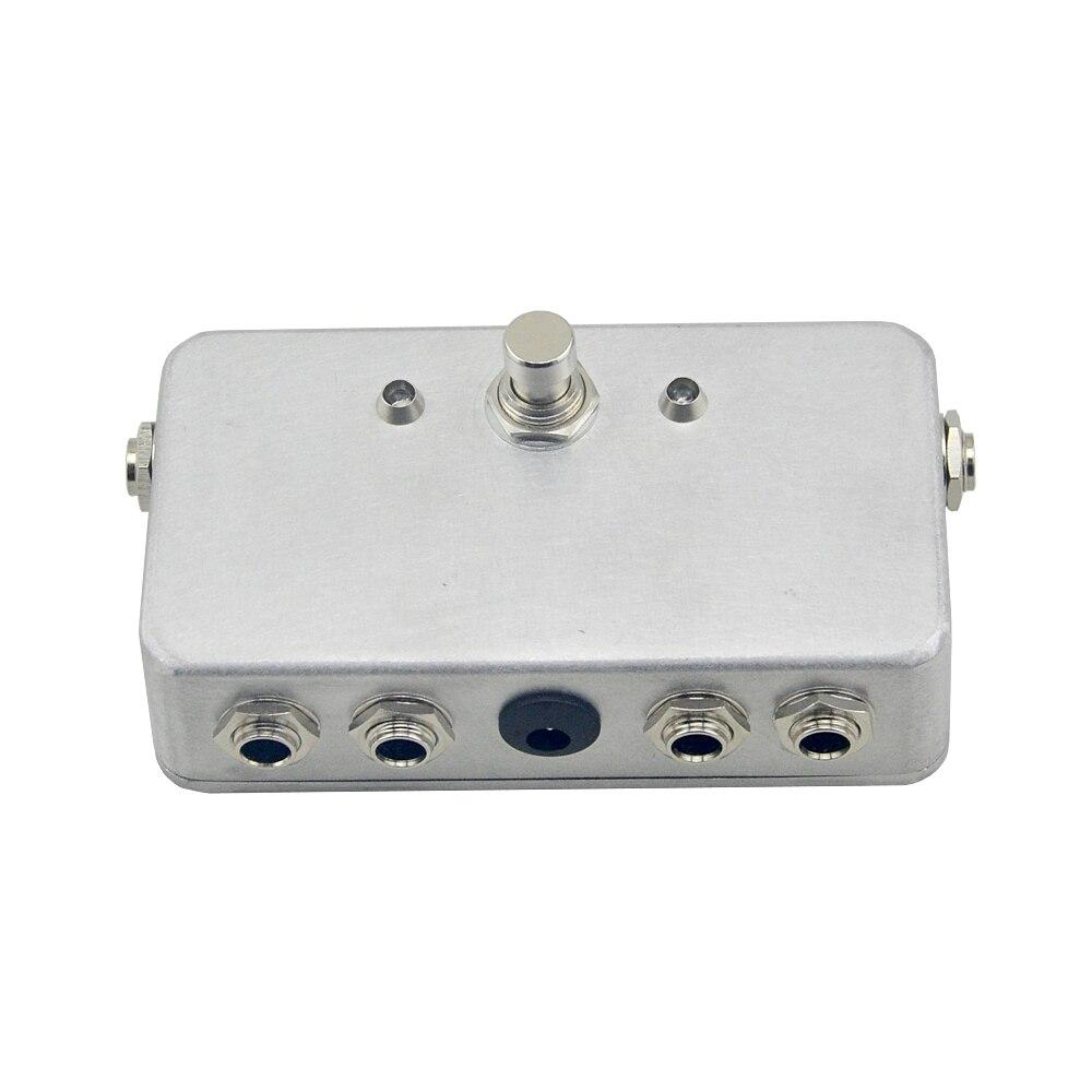 수제 이펙트 2 채널 기타 루퍼 이펙트 페달 스위치 일렉트릭 기타 이펙트 스위치 무료 배송