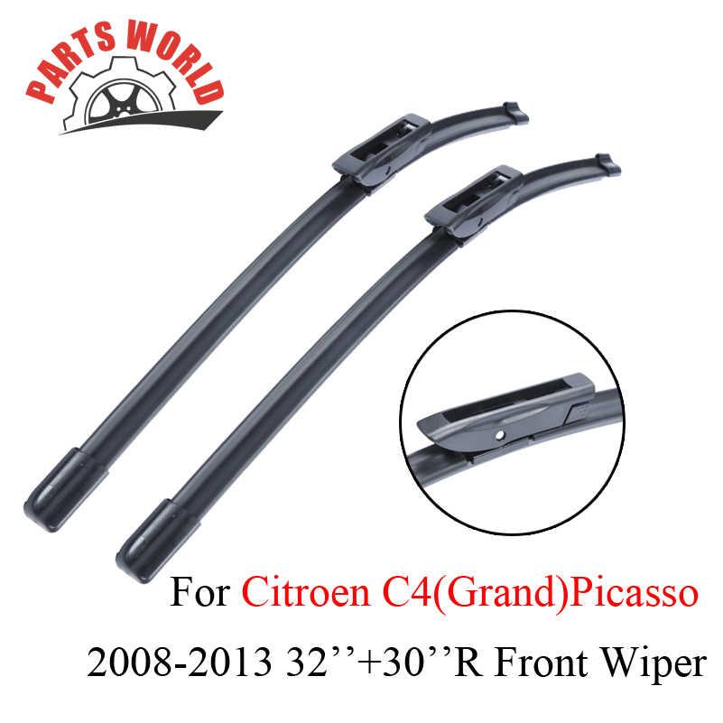 C4 Gran Picasso 2009 10 11 12 13 2 pezzi Destra Unit/à Wiper Blades Parabrezza anteriore Wiper Blades Left /& Right Compatibile con Citroen C4 Picasso