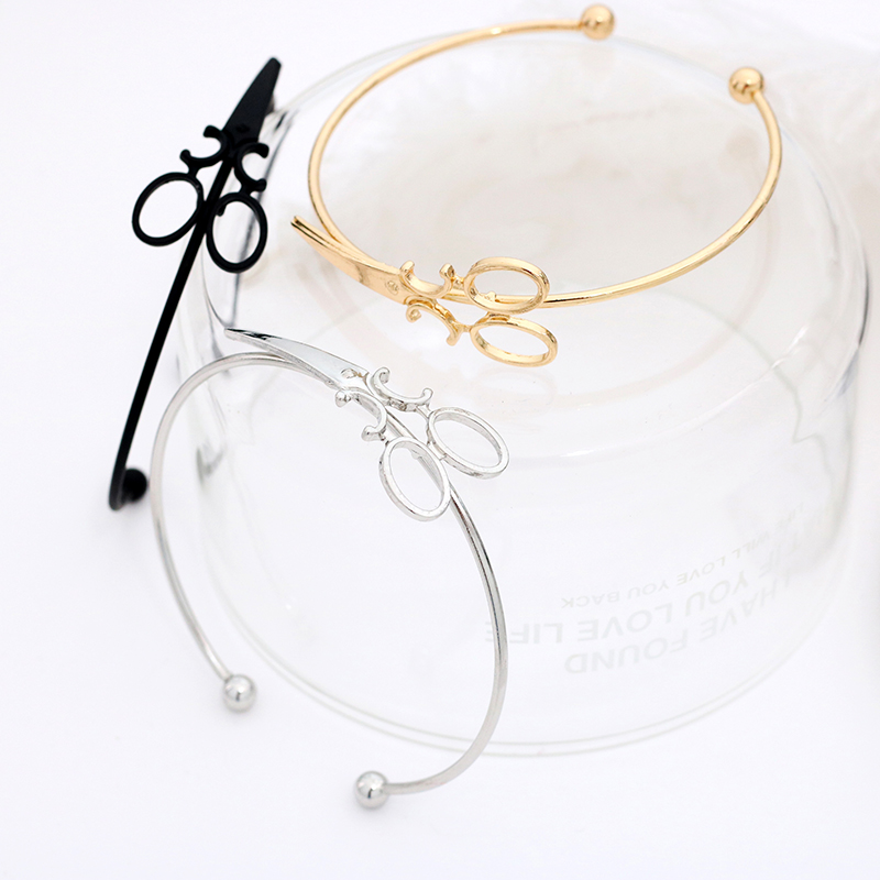 Fashion-Scissors-Charm-Bracelets-For-Women-Men-Simple-Gold-Silver-Black-Shears-Opening-Bangles-Hair-Stylist (3)