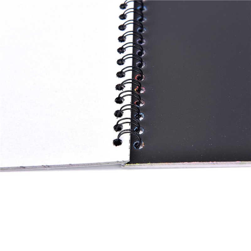 Bambini Stationery Set Notebook Stilo Magia Disegno Raschio Pittura Carta Zero Nota Disegno Giocattoli Educativi 19 cm x 26 cm