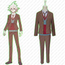 NSOKING DanganRonpa 3 School Uniform Dangan Ronpa Komaeda Nagito Cosplay Costumes