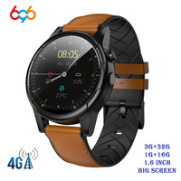 X360 Smart Watch 1+16GB/3+32GB 1.6 Round WiFi GPS Sim Card 4G Android Smartwatch Phone Sports Heart Rate Monitor Camera