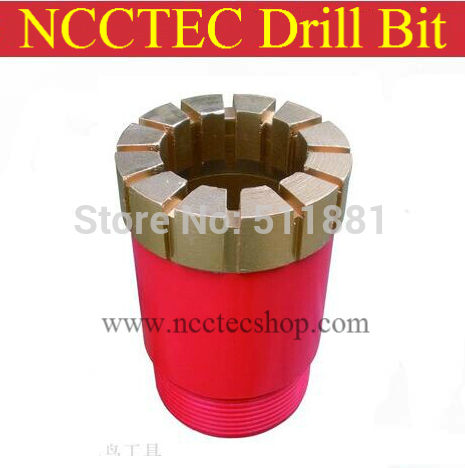 56-222mm Diamond sintered PDC Core Drill Bits for Oilfield Coalfield Gas Field Exploration/quickly drilled in hard layers