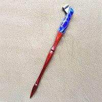 High Quality Handmade Rose Wood Blue Magic Oblique Calligraphy Nib Dip Pen Copperplate Script Dip Pen Holder