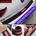Защитная Наклейка на задний бампер для Skoda Octavia A5 A7 2 Fabia Yeti BMW E60 F30 X5 E53 Inifiniti  90 см
