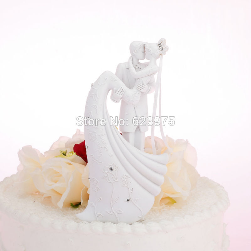 KateMelon Bride & Groom Wedding Cake Toppers Figurines ...