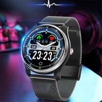 ECG PPG цифровые «Умные» часы для мужчин и женщин водонепроницаемый цветной динамический экран Спортивный Браслет для фитнеса сердечного рит