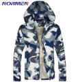 2016 New Brand Mens Camouflage turn-down Collar Polyester Casual jacket Fashion Thin Jacket For Men Drop Shipping