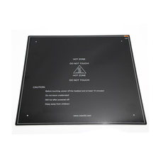 3D Printer Parts black MK3 hotbed Aluminum heated bed for CR-10 Hot-bed 12V 410x410x3mm option(China)