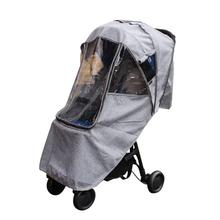 Baby Stroller Raincoat Cover Trolley Umbrella Car Rain Windshield Accessories