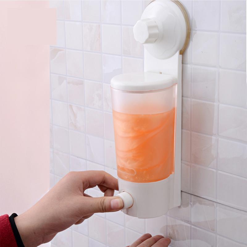 موزع صابون سائل ذو يد واحدة مع موزع - التنظيم والتخزين في المنزل