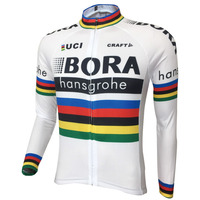 2017 BORA Men Long Sleeve Cycling Jersey Cycling Clothing Motocross Sport Jacket Ropa Ciclismo Hombre Hombre