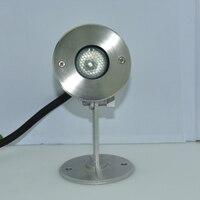 304 Stainless Steel High Quality 3W 12V Underwater Light For Fountain LED Lamp IP68 24V Pond