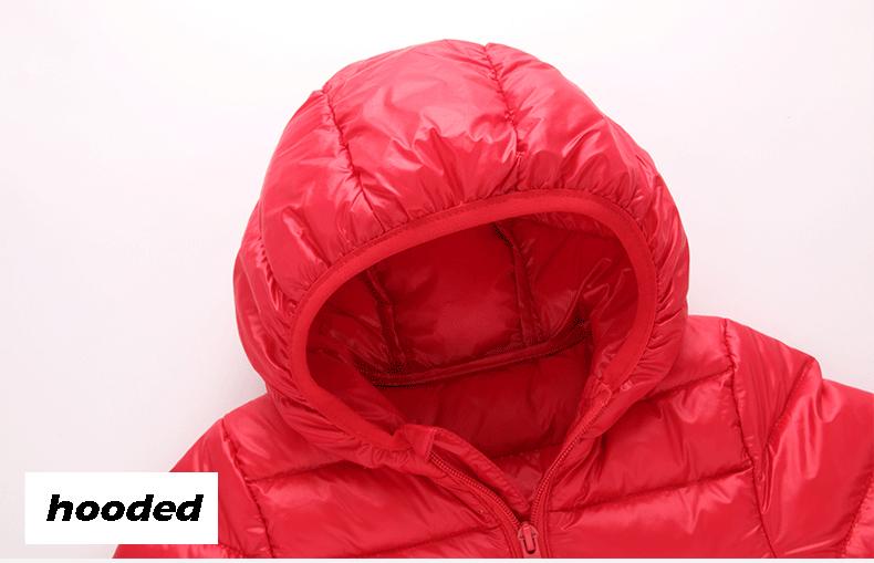 a193cc1e9 HH 1-5Y Light children s winter jackets Kids 90% Duck Down Coat Baby ...