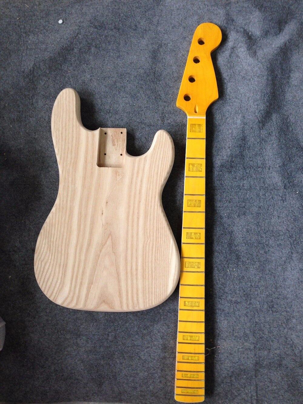 Factory sell ASH body PB Bass guitar and neck  no including parts /guitar kits