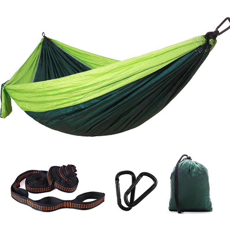 Single Double Camping Trip Hammock Hunting Hanging  Sleeping Beds Portable Outdoor Furniture Garden Swing Chair Picnic Mat GiftSingle Double Camping Trip Hammock Hunting Hanging  Sleeping Beds Portable Outdoor Furniture Garden Swing Chair Picnic Mat Gift