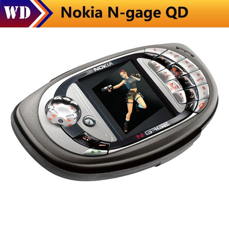 Originale Per Nokia N Gage Qd Mobile Telefono Cellulare Lingua Russa