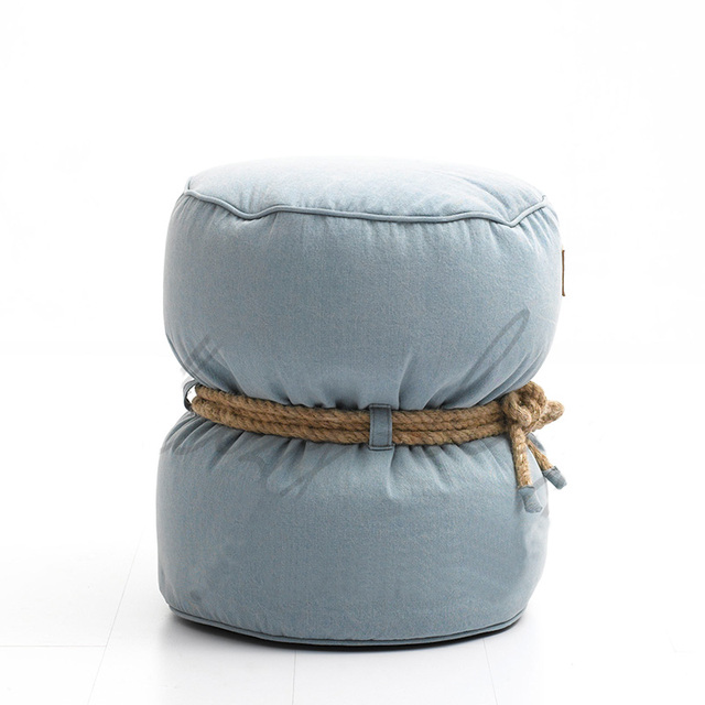 Deluxe Leisure Stool Lazy Bag Home Ottoman