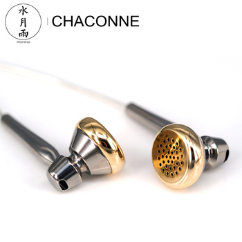 Moondrop CHACONNE HiFi Audio LCP Diaphragm Dynamic Flat-head Earphone Titanium Shell Internal Cavity Anti-standing Wave Design 1