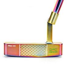 Clubes de golfe putter um conjunto para os homens 3 cores para escolher 33/34/35 polegadas tamanhos clubes golfe putter