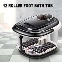 Полностью автоматический Электрический роликовый таз для ног, нагревательная ванна для ног, массажная машина для ног, спа массажер для ног, ...