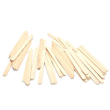 50Pcs Wooden Popsicle Stick