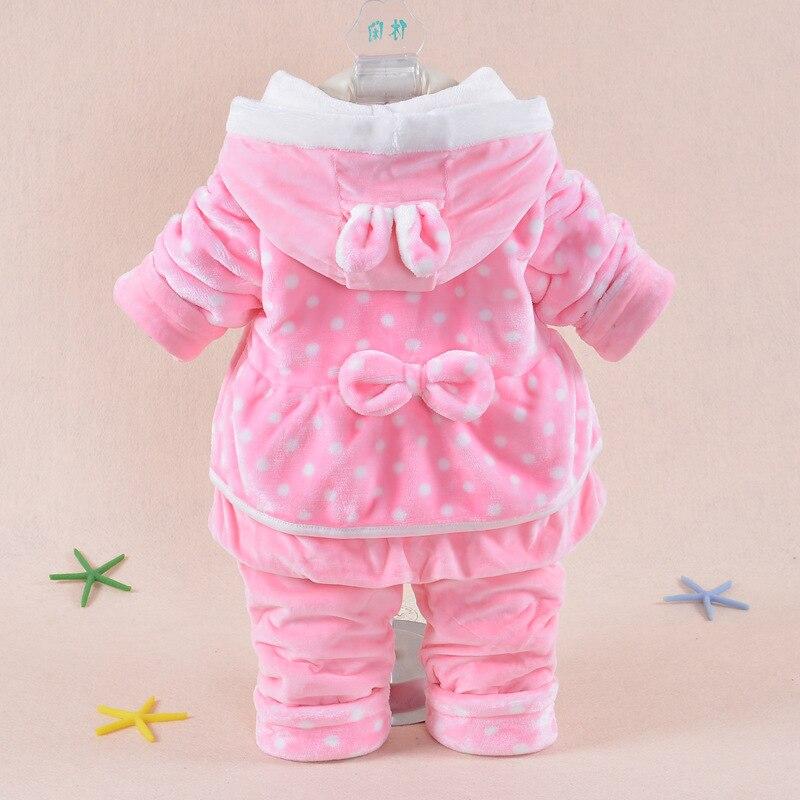 Купить комплект одежды для маленьких девочек новинка 2020 зимний фланелевый