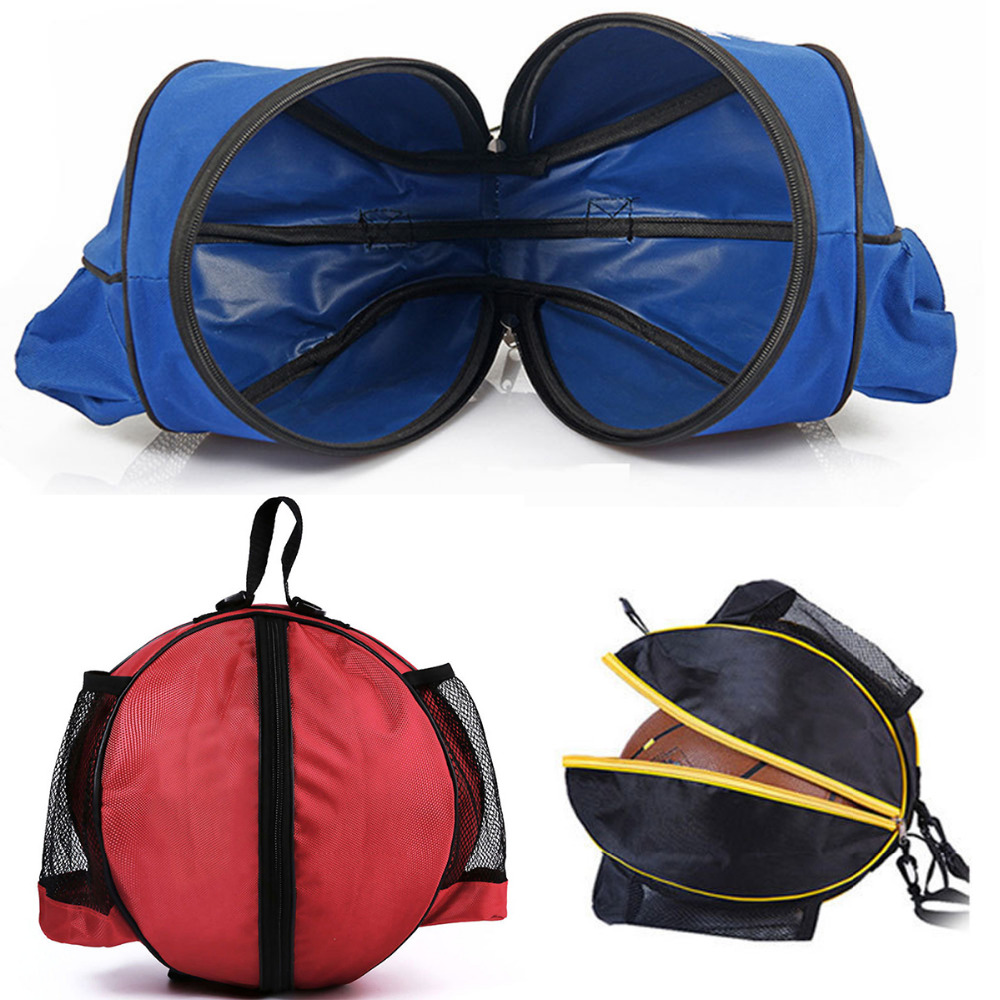Objective Outdoor Sports Shoulder Soccer Ball Bags Training Equipment Accessories Kids Football Kits Volleyball Basketball Bag Convenient To Cook Basketballs