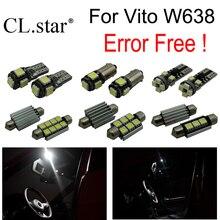 13 шт. лампа для Mercedes для Mercedes-Benz Vito W638 LED Внутренних Свет Стояночный Тормоз лампа (96-03)