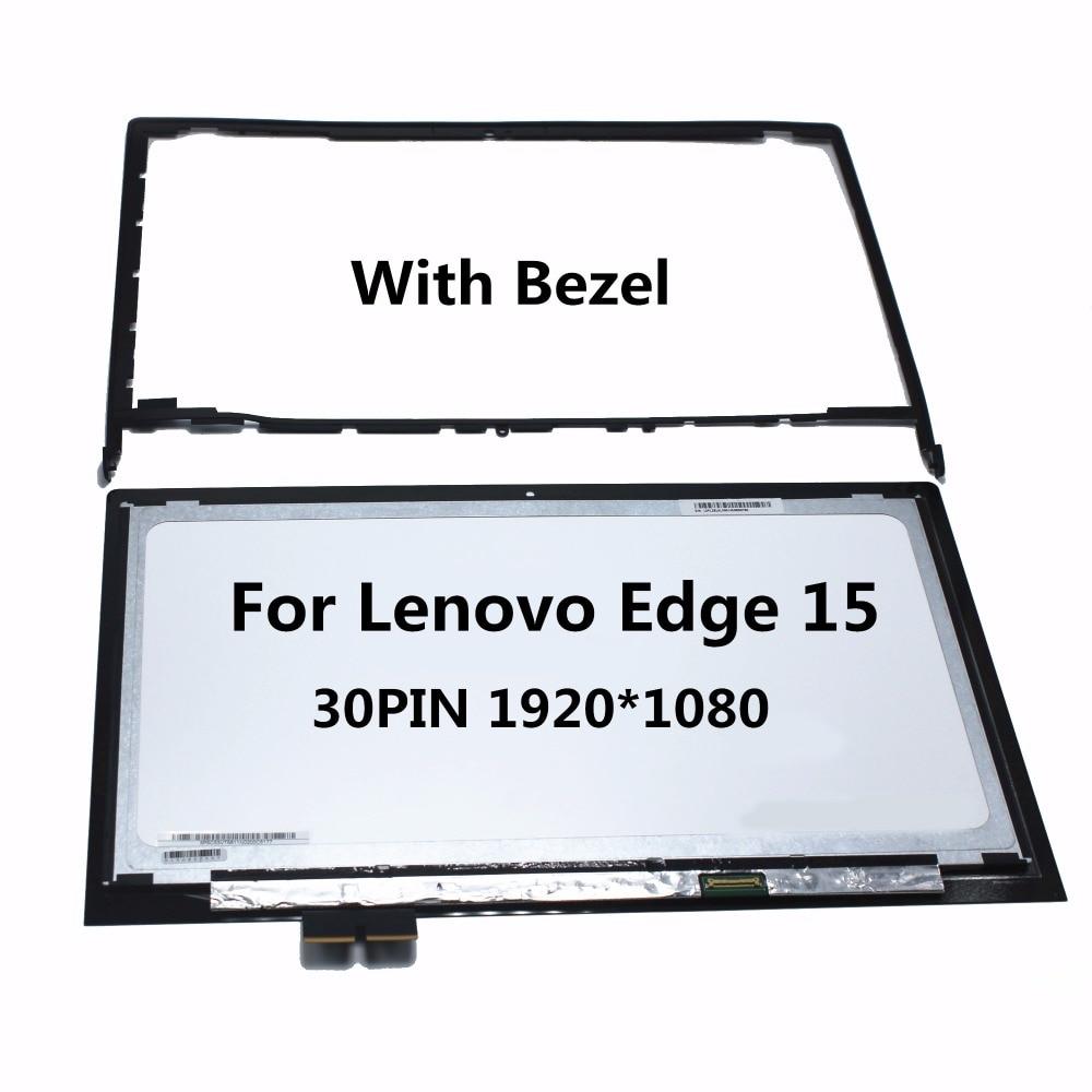 """LP156WF4 Screen Touch Assembly+BEZEL for Lenovo Edge 15 15.6/"""" 80H1 80K9 SP L1"""