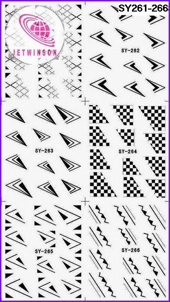 5 листов/партия,, переводные наклейки для ногтей, французский и кружевной дизайн, Переводные татуировки для ногтей