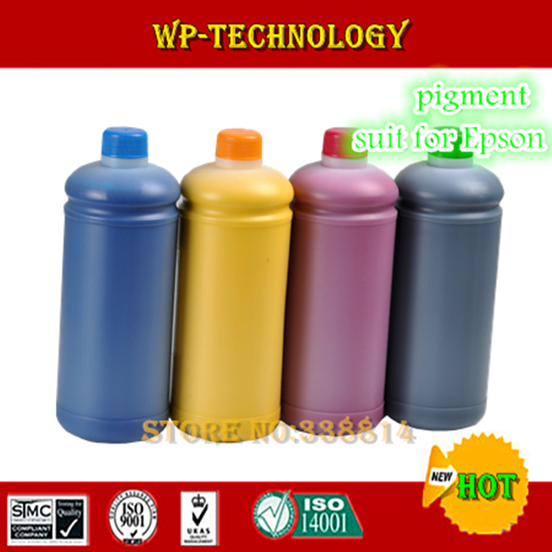high quality pigment ink suit for Epson 4 color printers 1 litre per color suit for