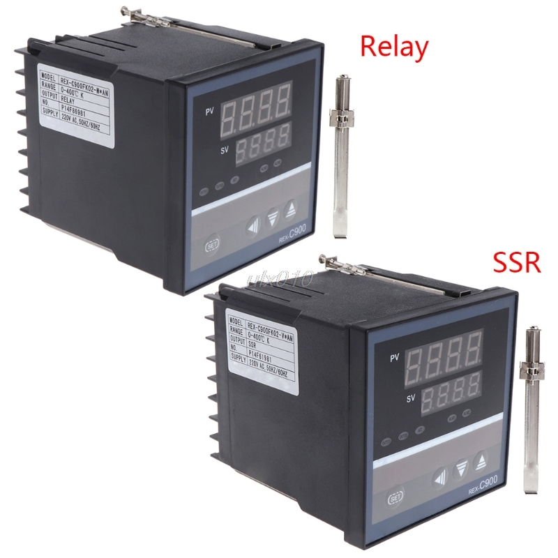 PID Temperature Controller REX-C900 Universal Input SSR Relay Output 96*96mm S03 Drop ship