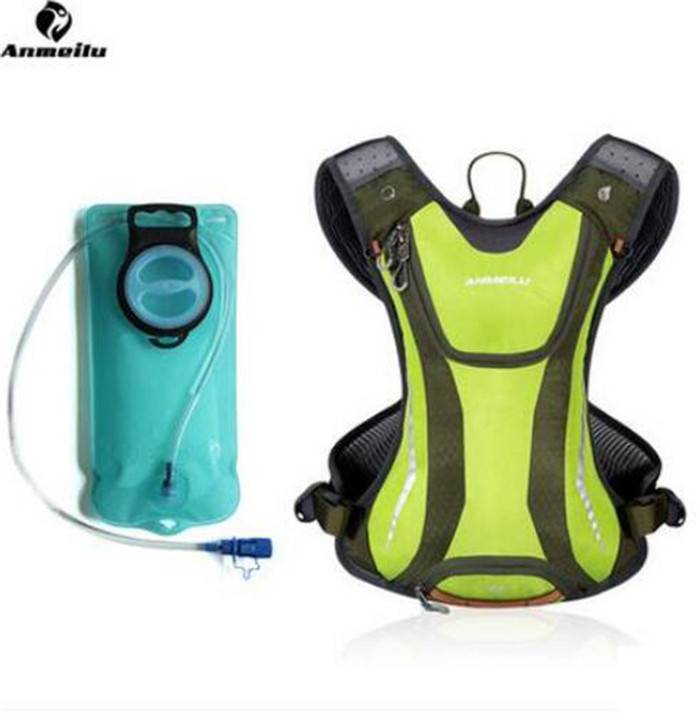 ANMEILU Correr Bolsas Hombres Mujeres 5L Impermeable Escalada Running Sports Gym