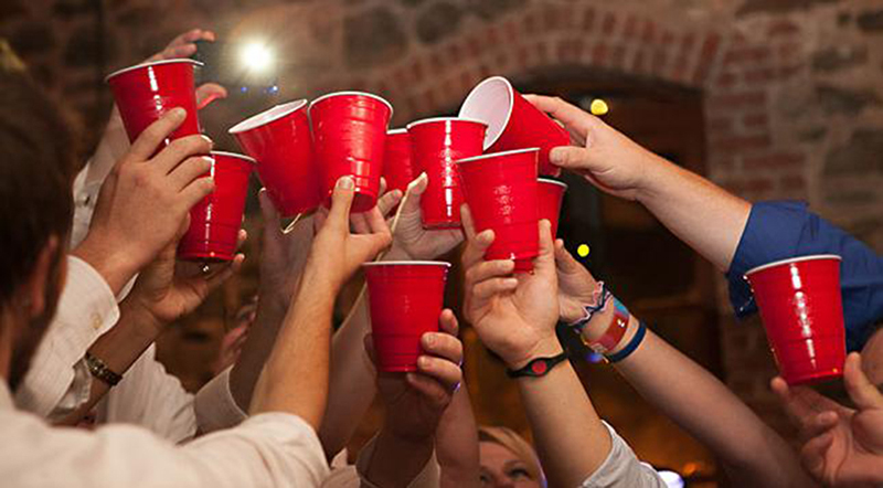 Image result for red solo cup at a party