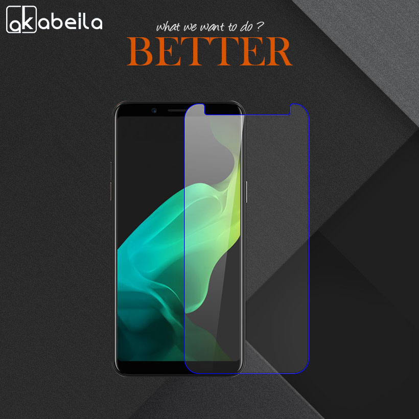 Akabeila 2pcs Phone Screen Protector Film For OPPO F5 Glass Explosion-proof Cover For OPPO A73 F5 Plus Tempered Glass Wholesale