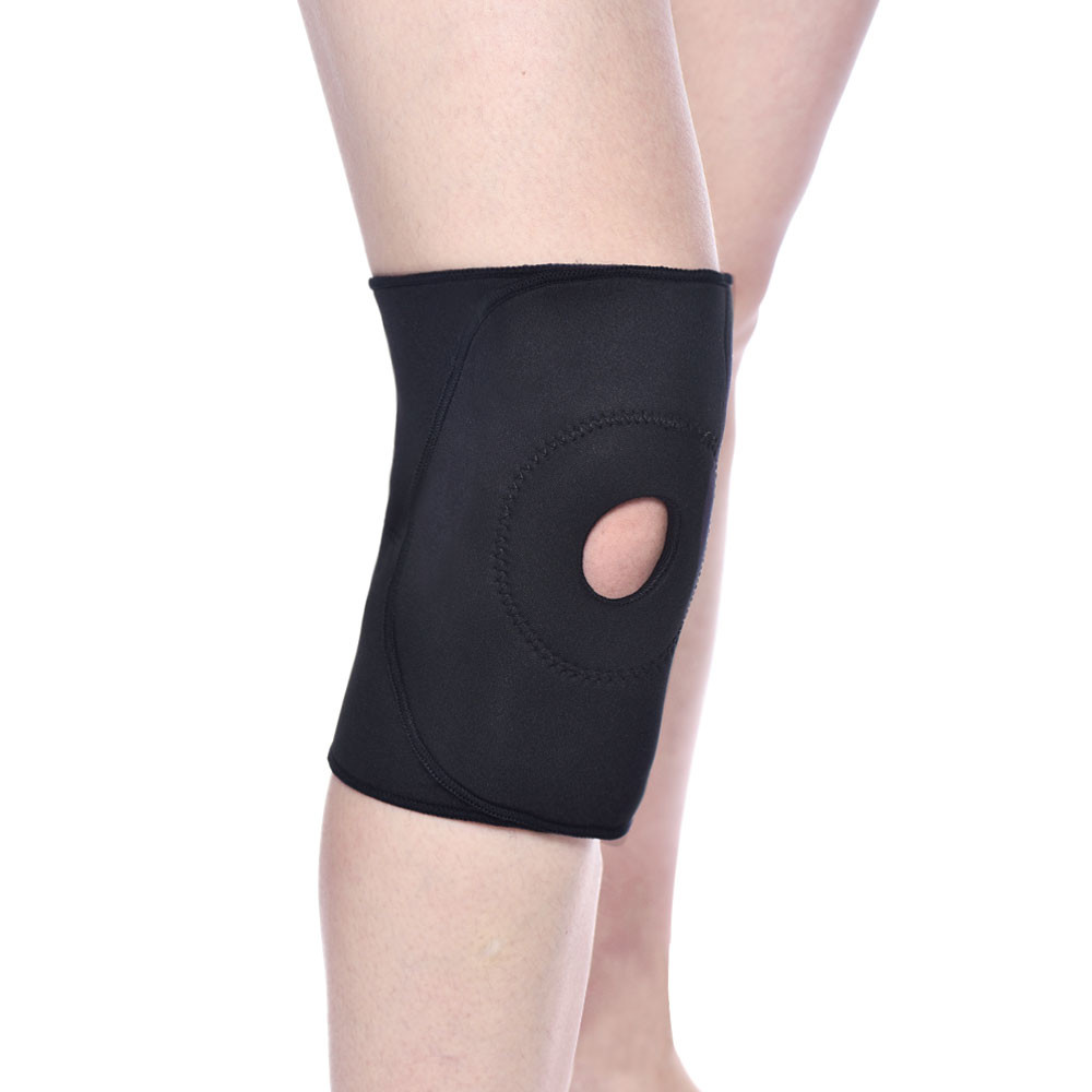 Neoprene Knee Brace Support Sports Patella Protector Compression Brace Black Evident Effect Orthopedics & Supports Orthotics, Braces & Sleeves