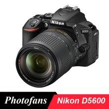 Камера Nikon D5600 DSLR с объективом 18-140 мм