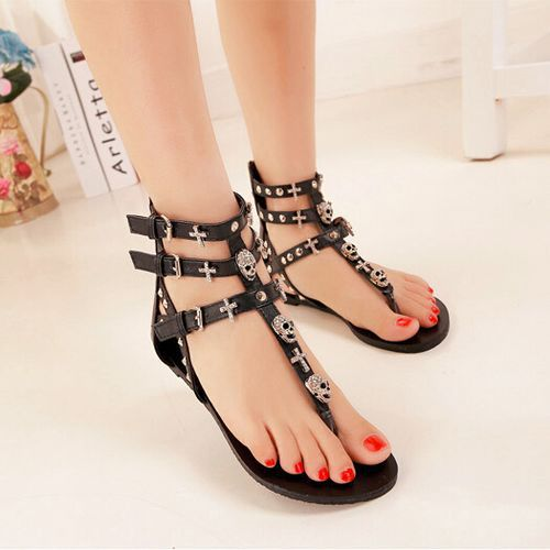400b3ac3c164 Fashion Casual Cute white black New brand designer patchwork thong Sandals  Women Flip Flops Flat Sandals Summer Shoes woman