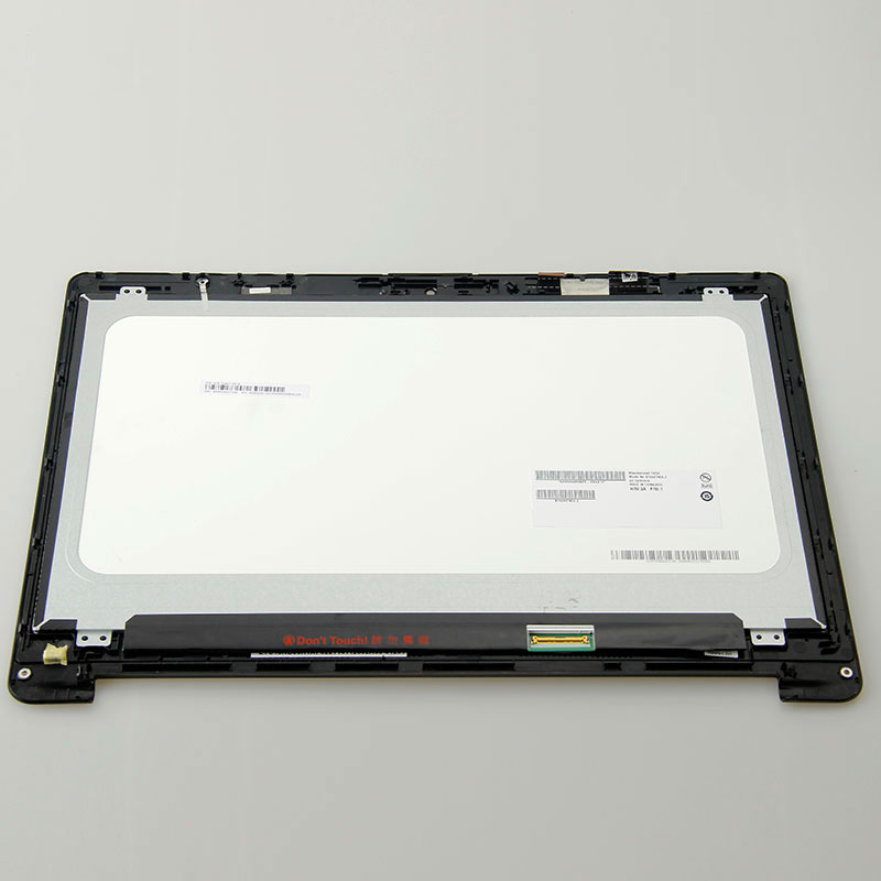 купить Lcd screen display with touch screen panel digitizer assembly with frame For Asus TP500L TP500LA B156XTN04.2 B156XTN04 по цене 5920.54 рублей