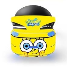 SpongeBob decal PSVR Skin Sticker for Sony Playstation PS VR Headset