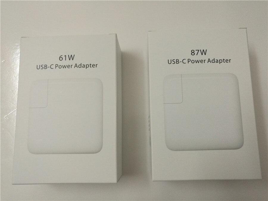 bilder für Neue 87 Watt 61 Watt USB-C Power Adapter Schnellladung für iPhone 7 Plus für Macbook Pro für Smartphone für samsung für huawei für xiaomi