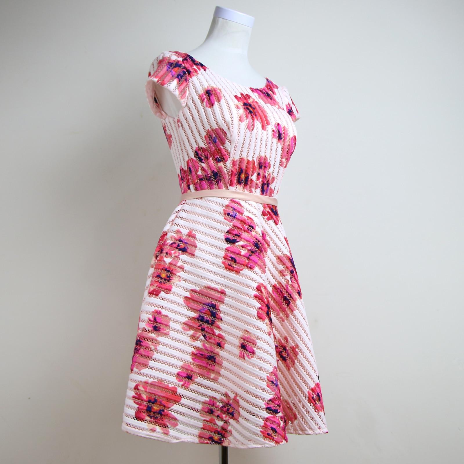 2017 Vestido de Noche Del Diseñador Patrones Florales Imprimir ...