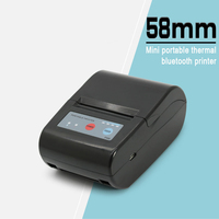 P58E 58mm Bluetooth Thermal Receipt Printer for Android and IOS AND Mini Printer for Android Mobile POS Printer