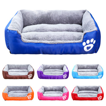 S-3XL Dogs Bed With Waterproof Bottom In 11 Colors